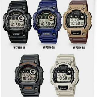 6折全新行貨卡西歐防水数字膠錶-40% Off Brand New Original Casio Water Resistance Plastic Watch