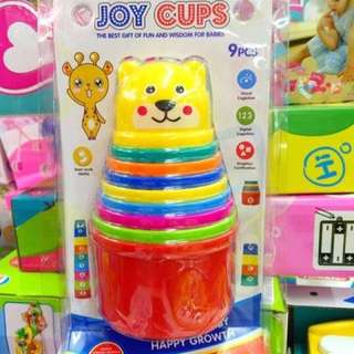 Creation Stacking Joy Cups Toy Set