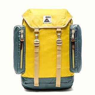 Poler Yellow & Dark Green Backpack
