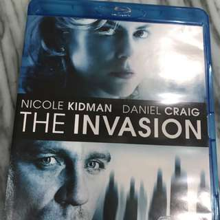 The invasion blu ray disc