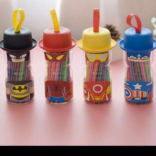 CHEAPEST!! SUPERHERO MARKER SET