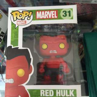Red Hulk Funko Pop (Vaulted)