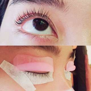 Eyelashes Perming + collagen Conditioning