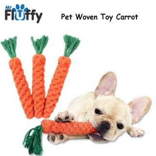 Pet Woven Toy Fruit