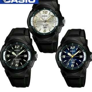 💼💼💼6折全新行貨卡西歐防水行針膠錶-40%Off Brand New Original Casio Water Resistance Plastic Watch
