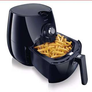 Philips airfryer viva collection black