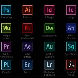 Adobe Creative Cloud 2018 ( Mac / Windows ) PHOTOSHOP, PREMIERE PRO , INDESIGN, LIGHTROOM