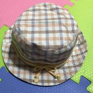 日本男寶遮陽帽👒漁夫帽 格子 格子帽 遮陽帽 男寶寶 男寶帽 男童 男童帽 女童帽 女寶寶 女寶帽 純棉