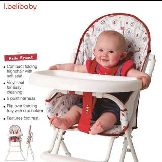 I.belibaby high chair