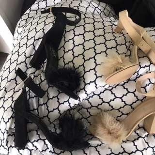 Feather heels 😍 price each