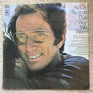 Andy Williams - The Way We Were vinyl record