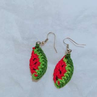 Watermelon earring handmade ❤️