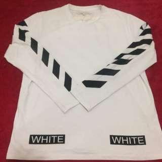 Off White long Sleve