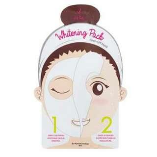 iwhite korea whitening peel off mask