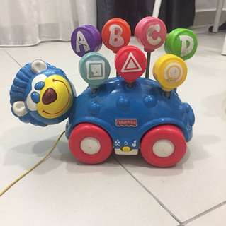 Preloved fisher price with music