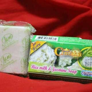 Thai whitening soap