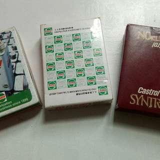 playing card castrol