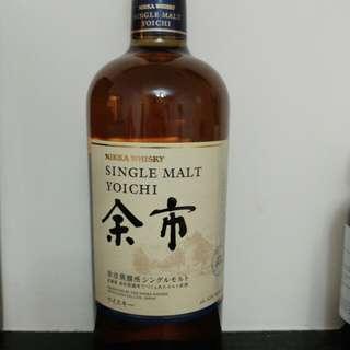 日本威士忌 余市 700ml