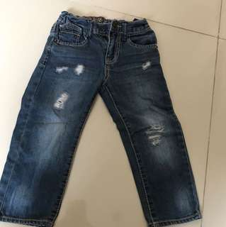 guess ripped jeans sz2thn