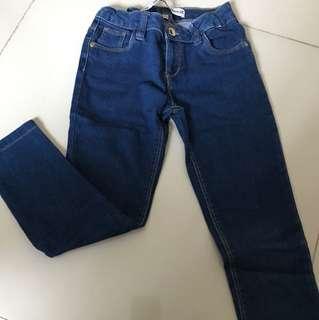 skinny jeans sz 6yr