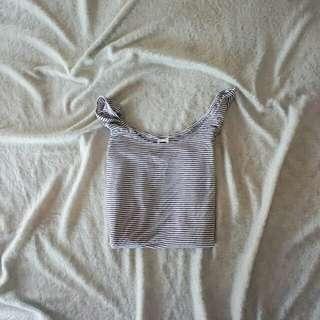 Sabrina stripe blouse