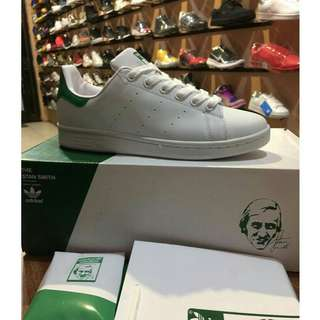 Authentic Adidas Stan Smith Green For Her And Him