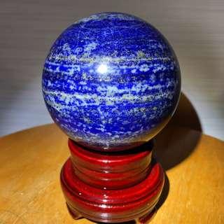 Natural Lapis Ball - 青金石球 (764g)