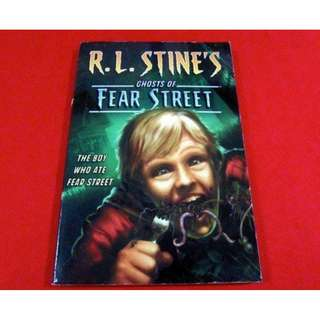 The Boy Who Ate Fear Street by R. L. Stone