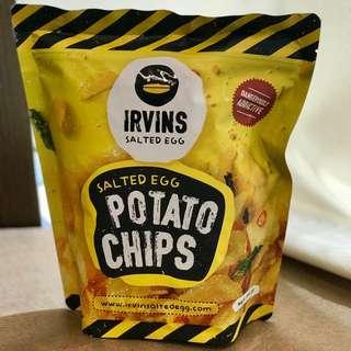 (現貨!) Irvin's Salted Egg Potato Chips (small) 鹹蛋薯片(小包)