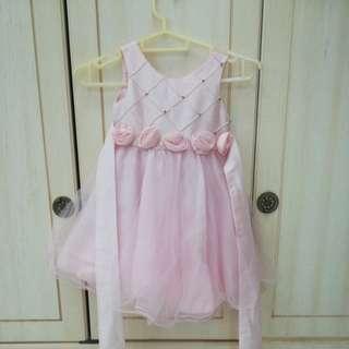 Pink dress @ tutu