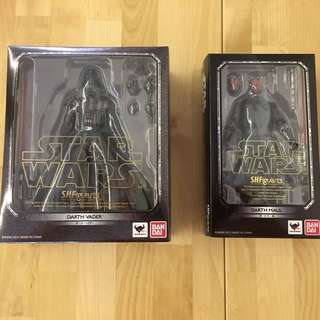 S.H.Figuarts Darth Vader and Darth Maul