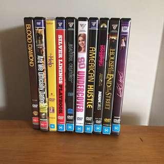 $5 Dvds