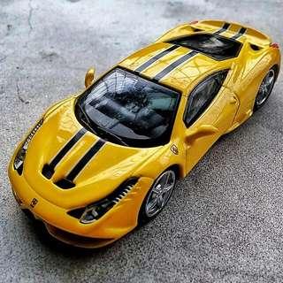 Ferrari 458 Speciale 金屬火柴盒小車