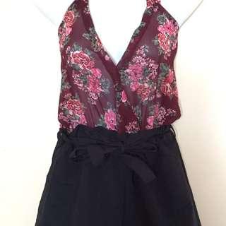 Floral Jump shorts