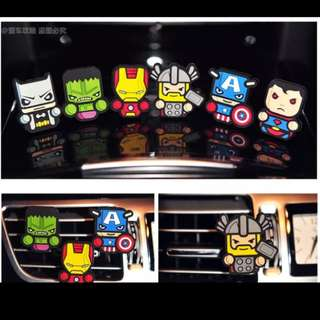 Car air freshener (superhero)
