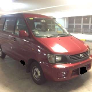 Toyota Liteace Auto Diesel for Monthly Rental $1150