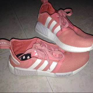Adidas Salmon Pink Old Rose NMD Womens Runner Shoes