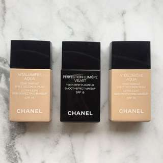 Chanel Foundations