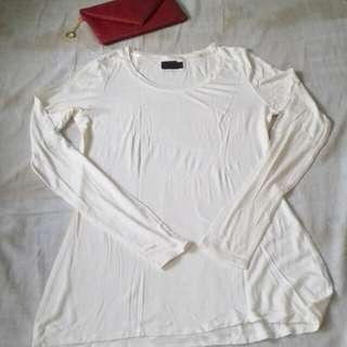 White Plain Longsleeve