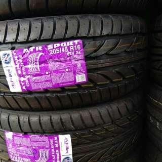 New tyre 205/45/16