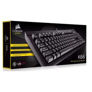 Corsair K66 Mechanical Gaming Keyboard — Cherry MX Red