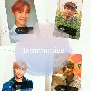 [Trade] BTS Love yourself album photocard (L/O/V/E ver.)