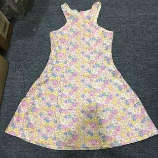 Sweet flora flower petite dress
