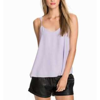 River island lilac cami top