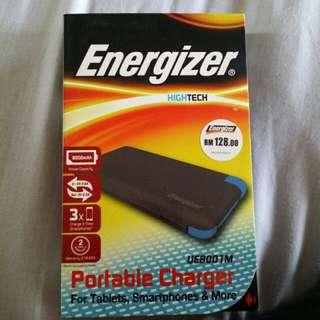 Original energizer 8000 mAh powerbank