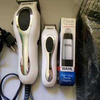 Hair cutting Razor and nose trimmer WAHL