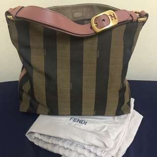 Fendi Pequin Stripe/ Authentic/ Excellent condition