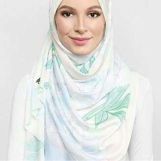 White Blooming Peonies Duckscarves
