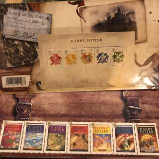 Harry Potter Stamps: First Day Cover, Presentation Packs, Mini Sheet