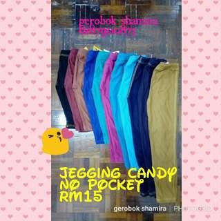 Jegging Candy No Pocket